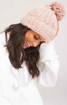 Show Me Your Mumu Katie Pom Pom Hat ~ Pink