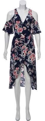 Flynn Skye Floral Wrap Dress w/ Tags