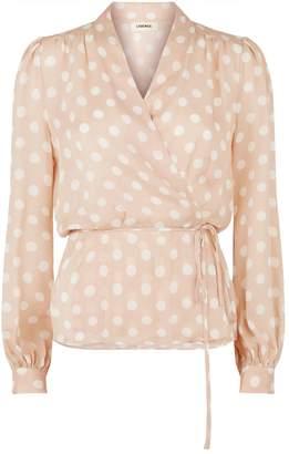 8ae68304293281 Silk Wrap Blouse - ShopStyle Australia