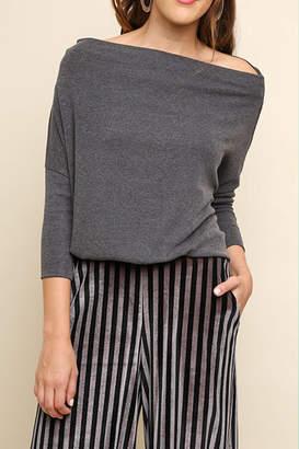 Umgee USA Off Shoulder Sweater