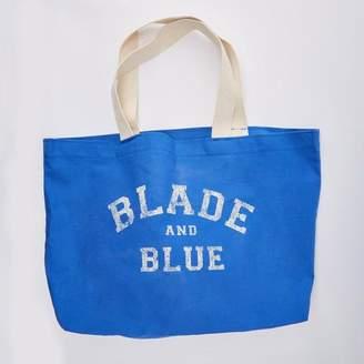 Blade + Blue Blade+Blue Tote Bag in Royal Blue