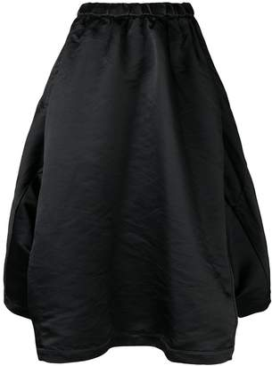 Comme des Garcons full draped skirt