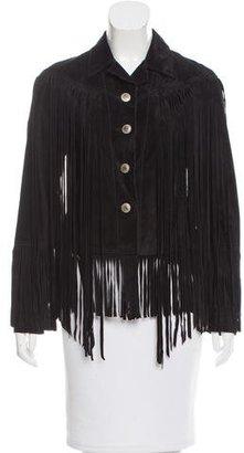 Ralph Lauren Denim & Supply Suede Fringe-Trimmed Jacket $280 thestylecure.com