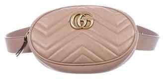 Gucci Marmont Matelassé Belt Bag