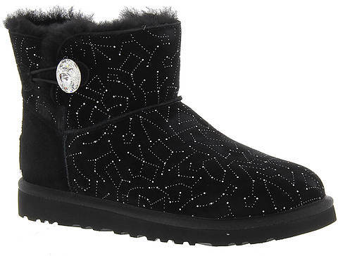 UGG UGG® Mini Bailey Button Bling Const (Women's)