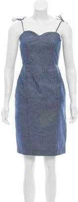 Marc Jacobs Denim Sleeveless Dress