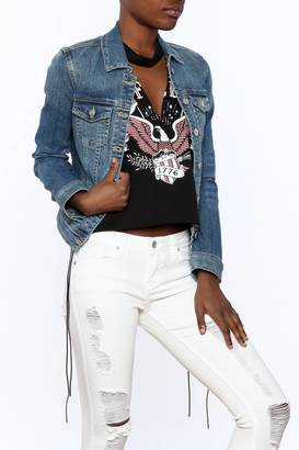 Just USA Classic Denim Jacket $59 thestylecure.com