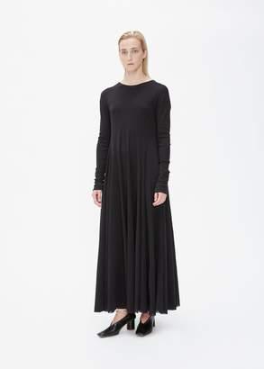 Jil Sander Long Sleeve Tulle Dress