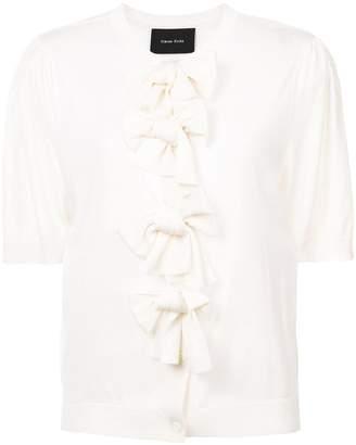 Simone Rocha bow embellished cardigan