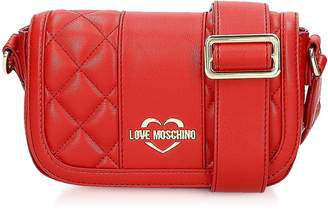 Love Moschino Quilted Eco Leather Camera Bag