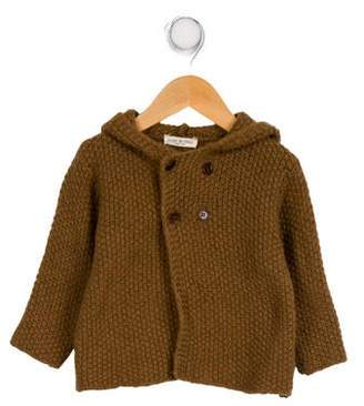 Babe & Tess Girls' Wool Knit Cardigan