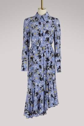 Erdem Rhea asymmetrical dress