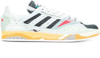 Raf Simons lace-up panelled sneakers