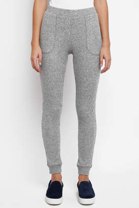 Neely Fuzzy Thermal Jogger Pant