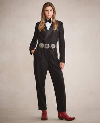 84822c5d7da Ralph Lauren Wool-Blend Tuxedo Jumpsuit