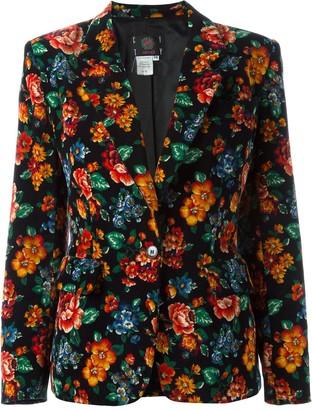 Kenzo Pre-Owned 1980's floral print blazer