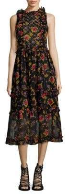 DAY Birger et Mikkelsen Dodo Bar Or Simmone Floral-Print Dress