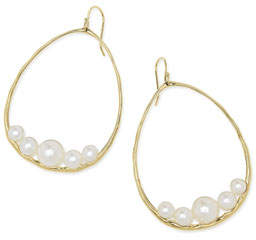 Ippolita 18k Nova Pear Drop Earrings in Mother-of-Pearl