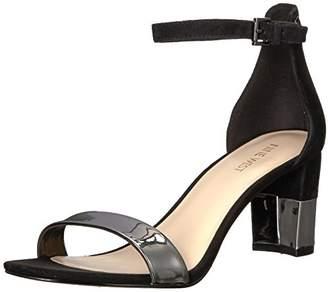 Nine West Women's Pruce Metallic Heeled Sandal