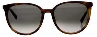 Celine Tortoiseshell Mary Sunglasses