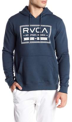 RVCA Label Fleece Hoodie