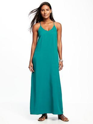 Sleeveless V-Neck Maxi Dress for Women $36.94 thestylecure.com