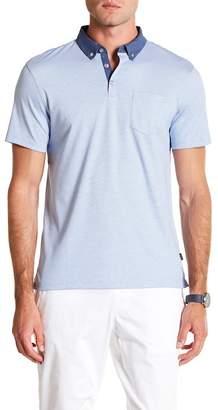 Calvin Klein Short Sleeve Feeder Polo