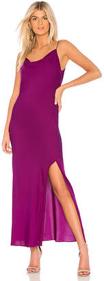 Theory Draped Back Maxi