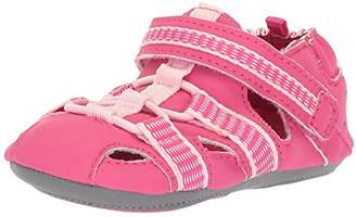 Robeez Girls' Sandal-Mini Shoez Crib Shoe