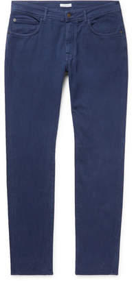 Boglioli Slim-Fit Stretch-Cotton Twill Trousers