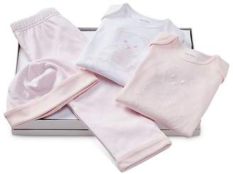 Ralph Lauren Girls' Polo Bear 4-Piece Gift Set - Baby