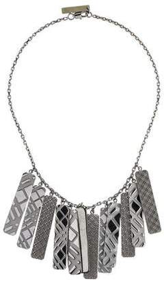 Burberry Tag Collar Necklace