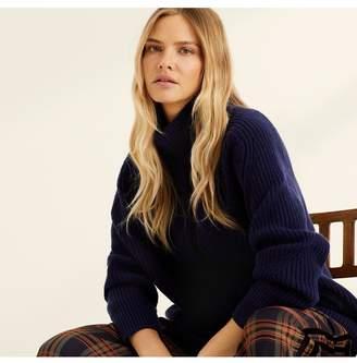 Amanda Wakeley Midnight Cashmere Chunky Knit