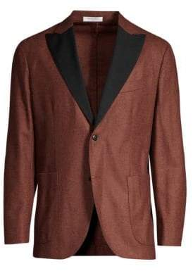 Boglioli Flannel Wool Dinner Jacket