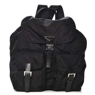 Prada Vela Backpack Nero Black