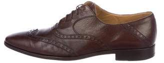 Sergio Rossi Leather Wingtip Brogues