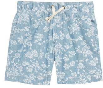 J.Crew crewcuts by Floral Chambray Dock Shorts