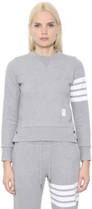 Thom Browne Intarsia Cotton Jersey Sweatshirt