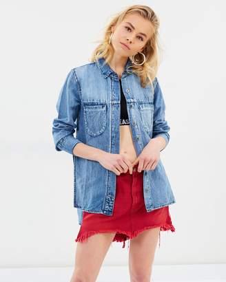 One Teaspoon Vanguard Mid-Rise Skirt