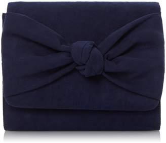Head Over Heels BERNETTE - Knot Detail Clutch Bag