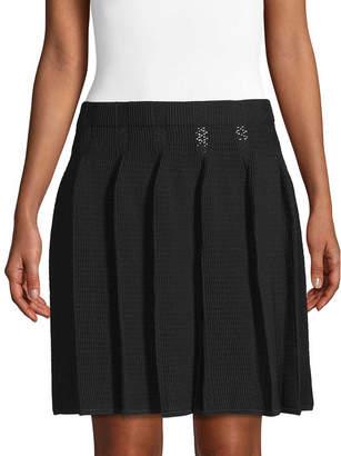 Sandro Pleat Skirt
