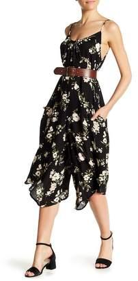 Love Stitch Floral Jumpsuit