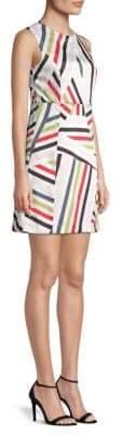 Milly Alexa Stripe Mini Dress