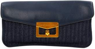 Marc by Marc Jacobs Navy Leather Clutch Bag