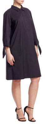 Lafayette 148 New York Lafayette 148 New York, Plus Size Talia Tie-Sleeve Dress