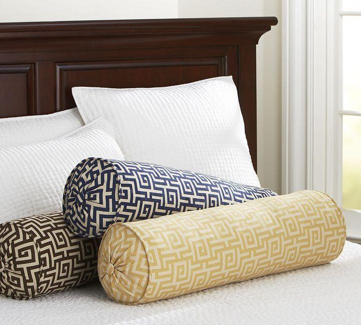 Sutter Jacquard Bolster Pillow Cover