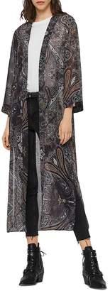 AllSaints Carine Paisley Kimono