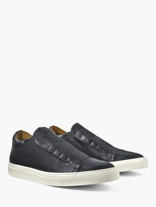 John Varvatos Reed Laceless Low Top Sneaker