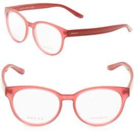 Gucci 50MM Oval Optical Glasses