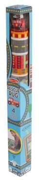 Melissa & Doug Round The City Rescue Rug